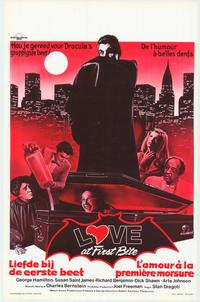 Love at First Bite - 11 x 17 Movie Poster - Belgian Style A