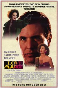 Love at Large - 11 x 17 Movie Poster - Style A