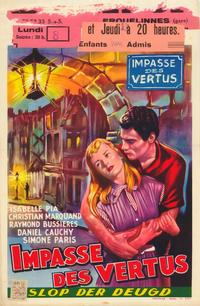 Love at Night - 11 x 17 Movie Poster - Belgian Style A