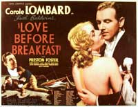 Love Before Breakfast - 30 x 40 Movie Poster UK - Style A