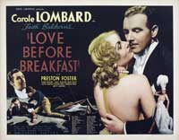 Love Before Breakfast - 22 x 28 Movie Poster - Half Sheet Style A