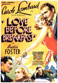 Love Before Breakfast - 11 x 17 Movie Poster - Style C