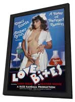 Love Bites - 11 x 17 Movie Poster - Style A - in Deluxe Wood Frame
