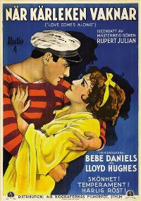 Love Comes Along - 27 x 40 Movie Poster - Swedish Style A