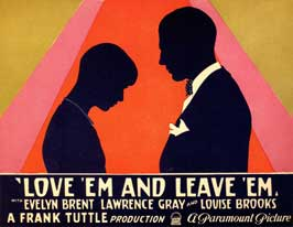 Love 'Em and Leave 'Em - 11 x 14 Movie Poster - Style A