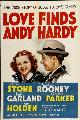 Love Finds Andy Hardy - 11 x 17 Movie Poster - Style B