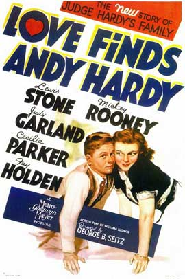 Love Finds Andy Hardy - 11 x 17 Movie Poster - Style A