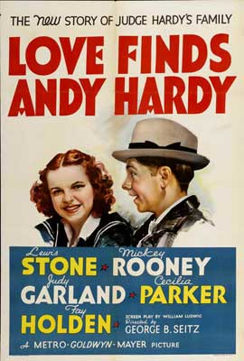 Love Finds Andy Hardy - 27 x 40 Movie Poster - Style B