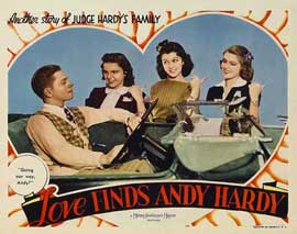 Love Finds Andy Hardy - 11 x 14 Movie Poster - Style B