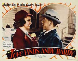 Love Finds Andy Hardy - 11 x 14 Movie Poster - Style D