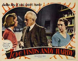Love Finds Andy Hardy - 11 x 14 Movie Poster - Style F