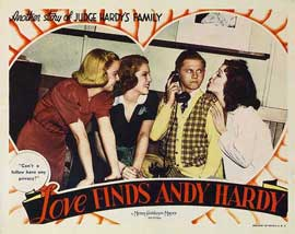 Love Finds Andy Hardy - 11 x 14 Movie Poster - Style G