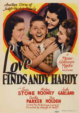 Love Finds Andy Hardy - 27 x 40 Movie Poster - Style C