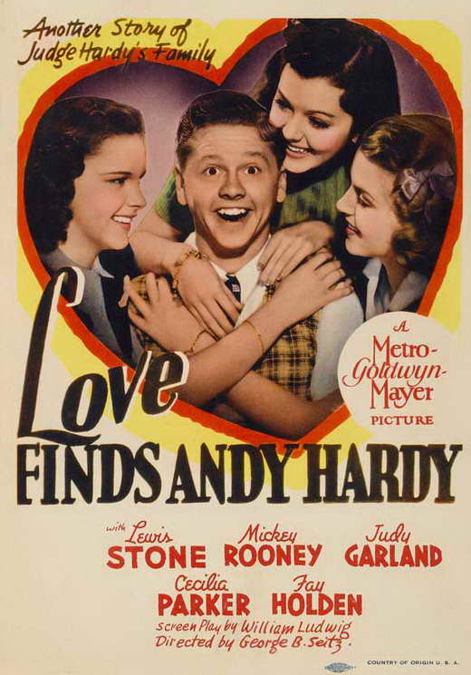 Love Finds Andy Hardy Movie Posters From Movie Poster Shop
