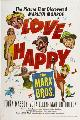 Love Happy - 11 x 17 Movie Poster - Style B