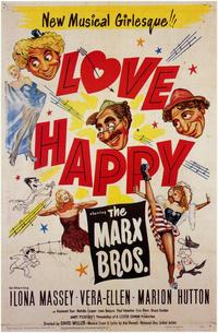 Love Happy - 11 x 17 Movie Poster - Style A