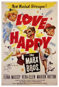 Love Happy - 27 x 40 Movie Poster - Style A