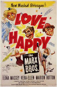 Love Happy - 43 x 62 Movie Poster - Bus Shelter Style A