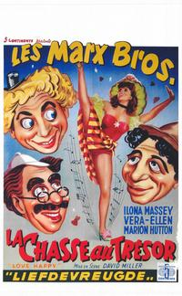 Love Happy - 14 x 22 Movie Poster - Belgian Style A