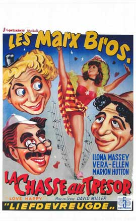 Love Happy - 11 x 17 Movie Poster - Belgian Style A
