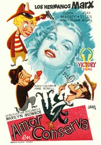 Love Happy - 11 x 17 Movie Poster - Spanish Style C