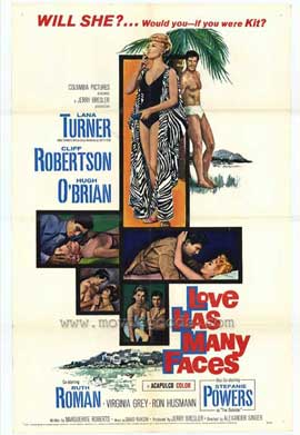 Love Has Many Faces - 11 x 17 Movie Poster - Style A