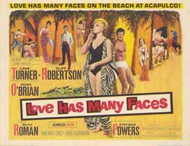 Love Has Many Faces - 11 x 14 Movie Poster - Style A
