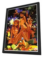 Love Hina - Anime - 24 x 36 Movie Poster - Style B - in Deluxe Wood Frame