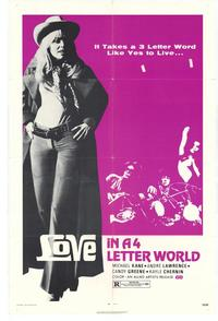 Love in a 4 Letter World - 11 x 17 Movie Poster - Style A