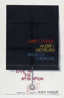 Love in the Afternoon - 27 x 40 Movie Poster - Style A