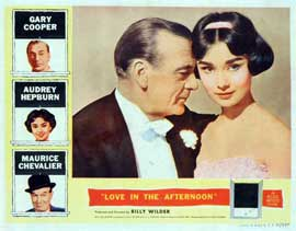 Love in the Afternoon - 27 x 40 Movie Poster - Style B