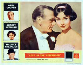 Love in the Afternoon - 43 x 62 Movie Poster - Bus Shelter Style A