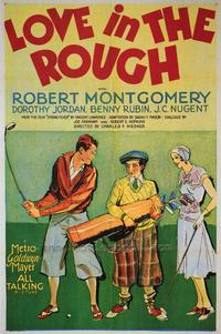 Love in the Rough - 27 x 40 Movie Poster - Style A