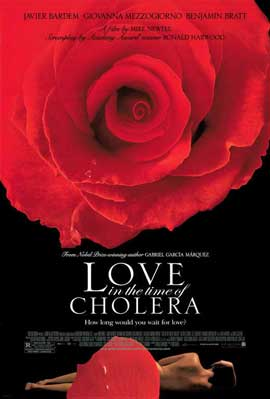 Love In the Time of Cholera - 11 x 17 Movie Poster - Style A