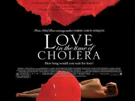 Love In the Time of Cholera - 11 x 17 Movie Poster - Style B
