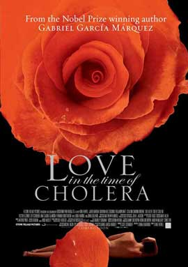 Love In the Time of Cholera - 11 x 17 Movie Poster - Style C