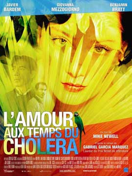 Love In the Time of Cholera - 27 x 40 Movie Poster - French Style A