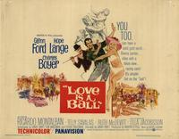 Love Is a Ball - 22 x 28 Movie Poster - Half Sheet Style A