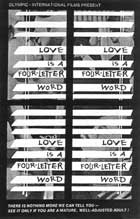 Love Is a Four Letter Word - 11 x 17 Movie Poster - Style A