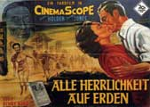 Love is a Many Splendored Thing - 11 x 17 Movie Poster - German Style B