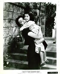 Love is a Many Splendored Thing - 8 x 10 B&W Photo #2