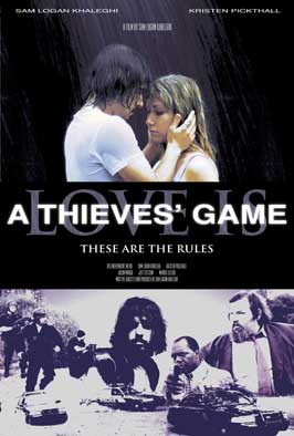 Love Is a Thieves' Game - 43 x 62 Movie Poster - Bus Shelter Style A