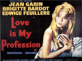 Love Is My Profession - 11 x 17 Movie Poster - UK Style A