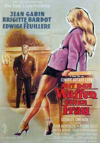 Love Is My Profession - 11 x 17 Movie Poster - German Style A
