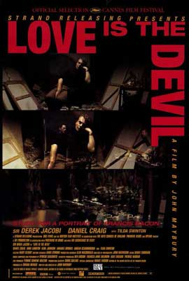 Love Is the Devil - 11 x 17 Movie Poster - Style A