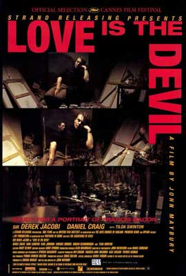 Love Is the Devil - 27 x 40 Movie Poster - Style A