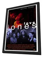 Love Jones - 27 x 40 Movie Poster - Style B - in Deluxe Wood Frame