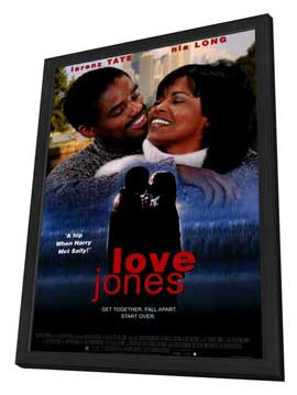 Love Jones - 11 x 17 Movie Poster - Style A - in Deluxe Wood Frame