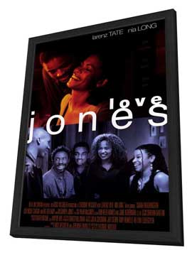 Love Jones - 11 x 17 Movie Poster - Style B - in Deluxe Wood Frame
