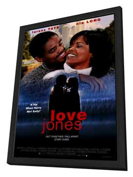Love Jones - 27 x 40 Movie Poster - Style A - in Deluxe Wood Frame